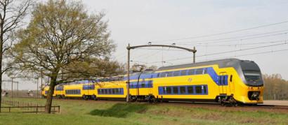 Tevreden spoorgebruikers
